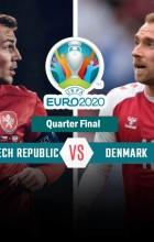 UEFA Euro 2020 Quarter Final - Denmark vs Czech Republic